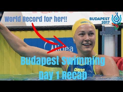 Budapest 2017 - Swimming Day 1 Recap