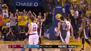 Stephen Curry Impossible 3-pointer with the Shot Clock Expiring