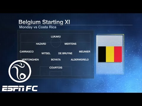 Analyzing Belgium's 2018 World Cup starting XI: Is this the sleeper team in Russia?   ESPN FC