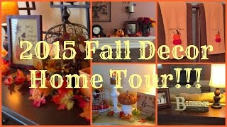 2015 Fall Decor Home Tour!!! Zero Dollar Spent!!!