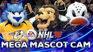 NHL 16 | Mega Mascot Cam - All 26 Mascots !