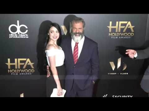 Mel Gibson and Rosalind Ross Fashion - Hollywood Film Awards 2016
