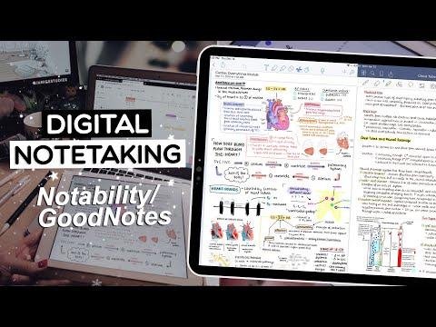 DIGITAL NOTETAKING | Notability & GoodNotes