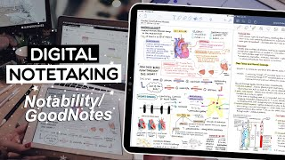 DIGITAL NOTETAKING for BEGINNERS | Notability & GoodNotes