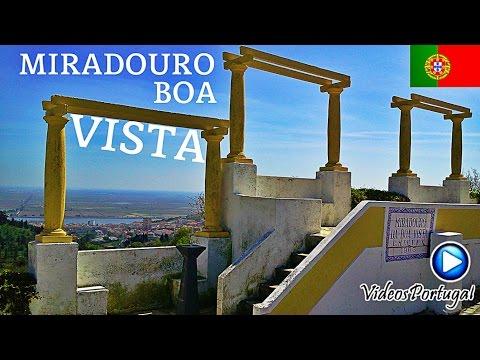 MIRADOURO da Boa Vista Cidade Vila Franca de Xira | Videos de Portugal