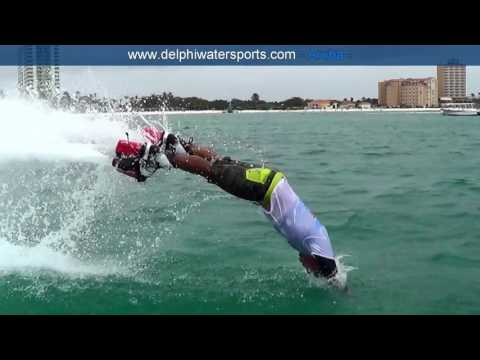 Flyboarding Aruba by Delphi Watersports. Theme: Fly Bryon..fly!