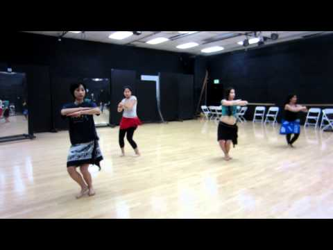 Tahitian Dance With Leolani March 2012