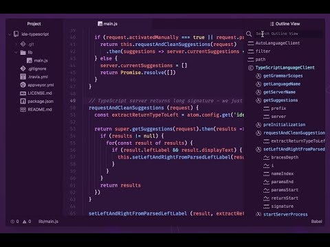 First Impressions of the new Atom IDE