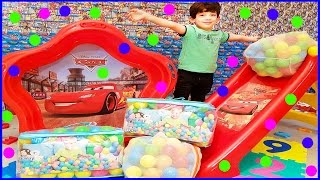 Ball Pit Show with Cars Toys