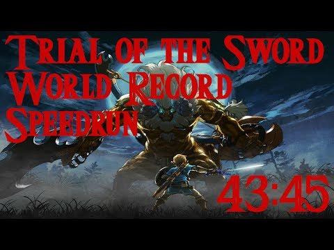 Zelda: BotW - Trial of the Sword Speedrun (43:45)
