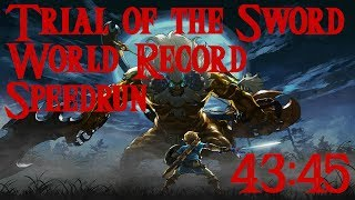 Trial of the Sword World Record Speedrun in 43:45