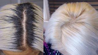 DIY: White Hair Root Touch up (Asian Hair) - maricarljanah