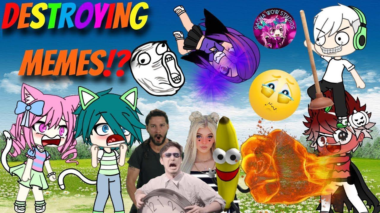 Gacha Meme Land Of Memes Funny Original Gachaverse Gacha Life Mini Movie Glmm Youtube