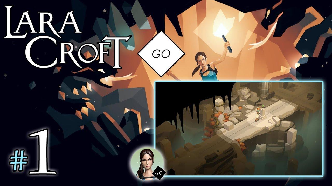 "LARA CROFT GO #1 – The Entrance [1/1] – ""Turowy Tomb Raider"""