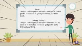 Compare betwen  Forex vs Binary Options