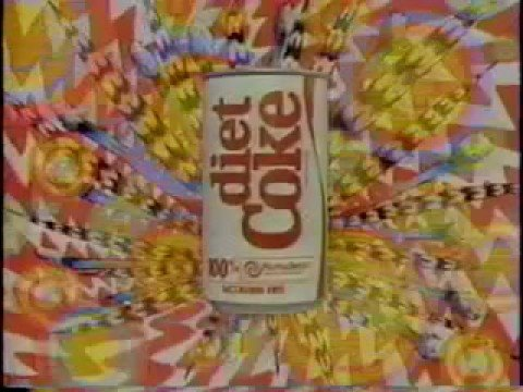 Diet Coke & Caffeine Free Diet Coke commerical (1986)