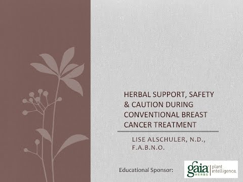 Herbal Safety and Considerations During Breast Cancer Treatments