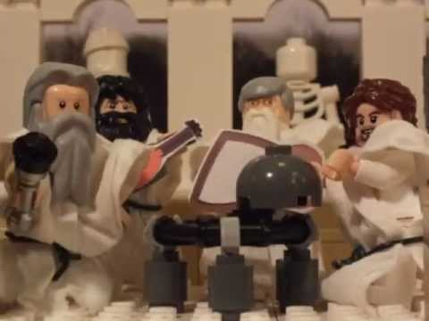 Horrible Histories 'Thinkers' Song in Lego