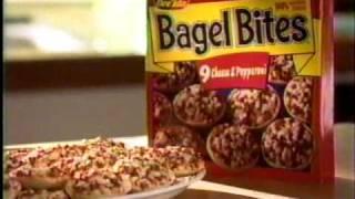 Ore Ida Pizza Bagel Bites Commercial - (1997).mpg