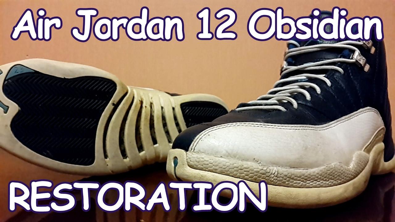"newest 98dc0 49653 Yeah, it s Air Jordan 12 Retro ""Obsidian"" Restoration Very Fast ..."