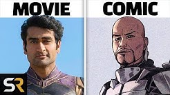 Eternals How Each Character Is Supposed To Look