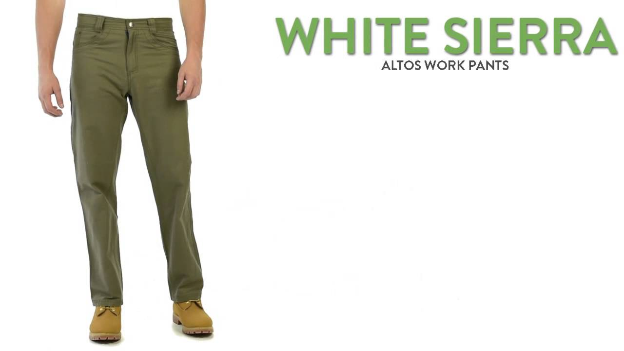 White Work Pants For Men