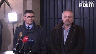 Pressebriefing ifm. koordineret politiaktion