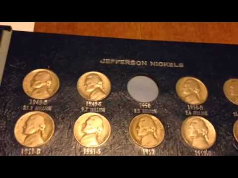 Buffalo/Jefferson Nickel Book Auction Purchase