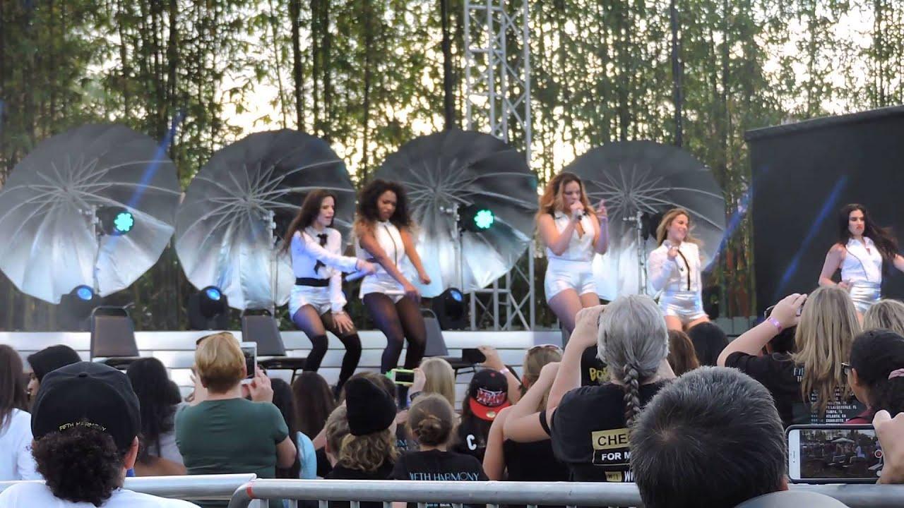 Sugar Mama -Fifth Harmony #ReflectionTour @Busch Garden Tampa