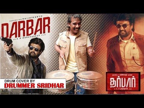 DARBAR - BGM | THALAIVAR THEME MUSIC | DRUM COVER | ANIRUDH | RAJINIKANTH