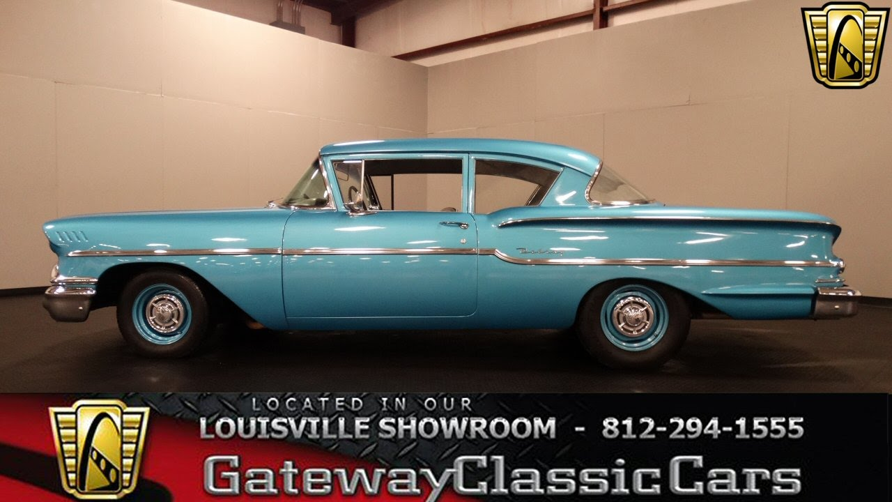 1958 Chevrolet Delray Louisville Showroom Stock 1109 Youtube