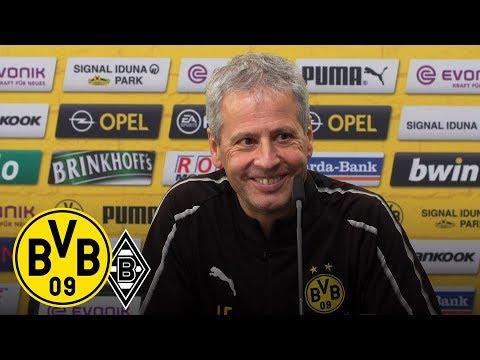 Wie geht's den Abwehrspielern? | Lucien Favre auf der PK | BVB - Gladbach