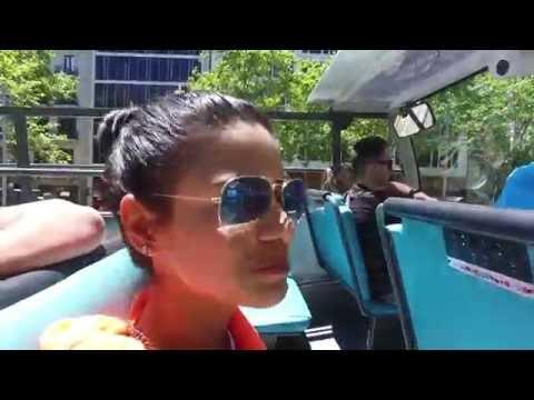 Bus tour around Barcelona, Spain #1 - June 2016 DJI Osmo