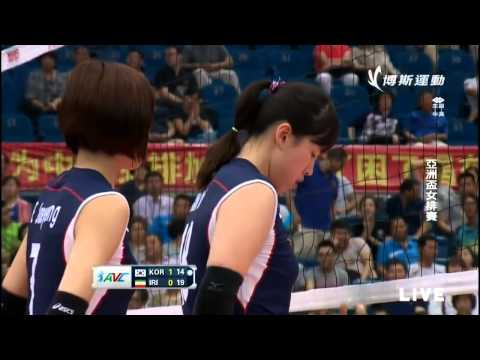 [Set 2]Korea vs Iran[Quater Final][2015 AVC Asian Women's Volleyball Champioship]