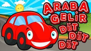 Araba Gelir Düt Düt Düt  Eğitici ve Eğlenceli Bebek ve Çocuk Şarkısı  Çizgi Film  Tatlış Tavşan