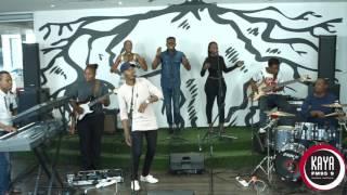 Thami Shobede Performs Ndenzenjani  Live and Unplugged on Kaya FM