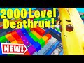 Someone MADE A 2000 LEVEL DEFAULT DEATHRUN.. (Fortnite Creative Mode)