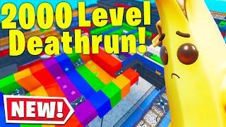 Someone MADE A 2000 LEVEL DEFAULT DEATHRUN.. (Fortnite Creative Mode) thumbnail