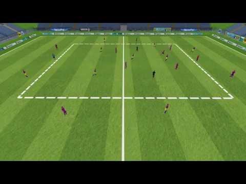 3D - Position Game - GK+9v9+GK +2 Pivots - FC Barcelona