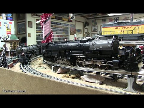 O Gauge Lionel & MTH Train Layout Operations