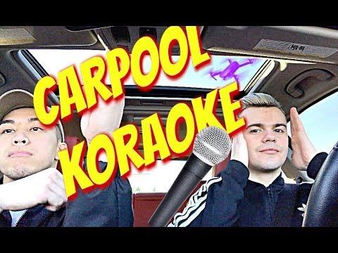 CARPOOL KARAOKE! *popular songs