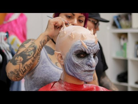 TRANSFORMING INTO A WHITE WALKER