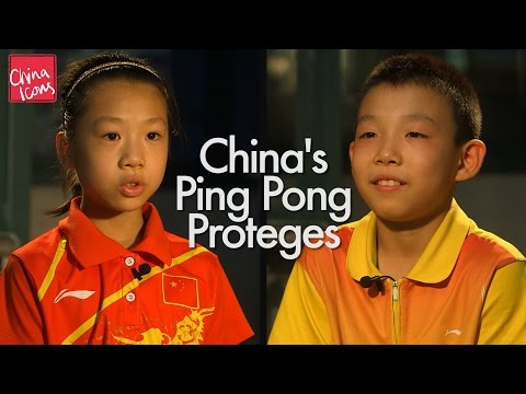 Generate China's Ping Pong Proteges | A China Icons Video Images