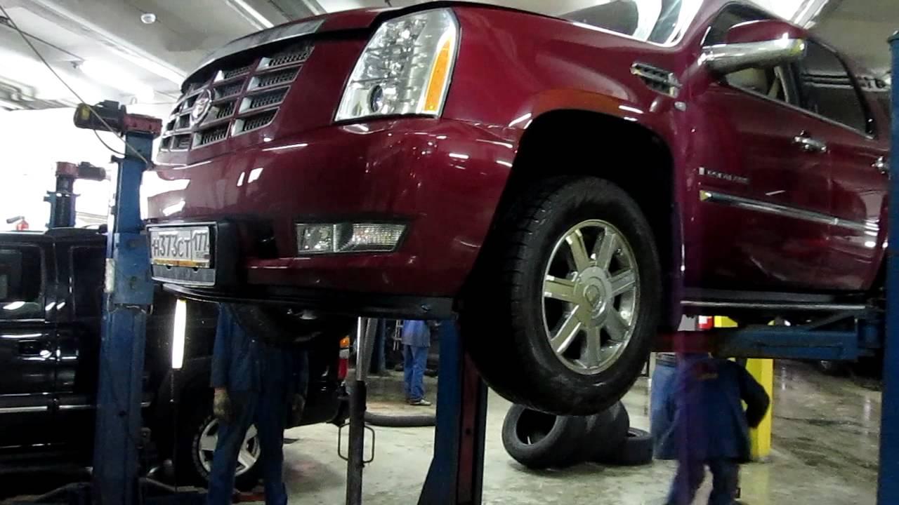 Диагностика подвески  Cadillac Escalade