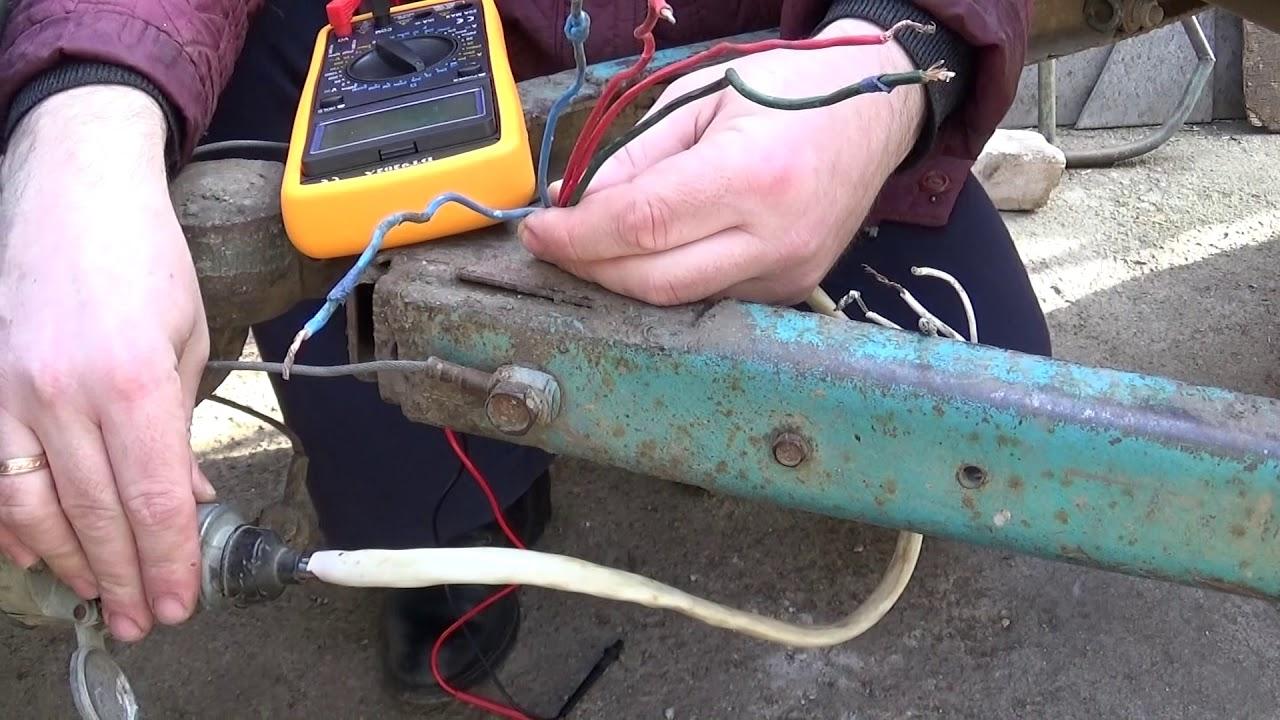 Как заставить работать электрику автоприцепа