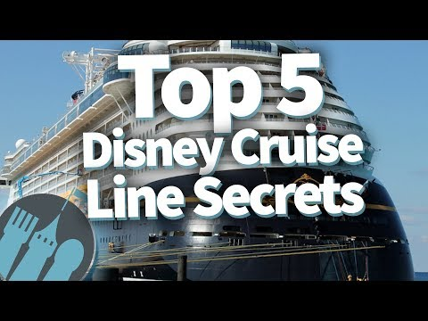 Top 5 Disney Cruise Line Secrets!