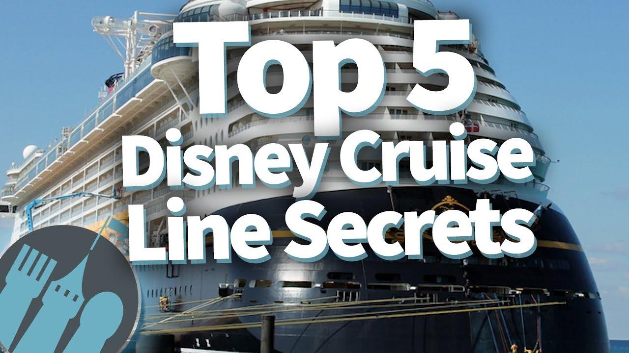 Top 5 Disney Cruise Line Secrets