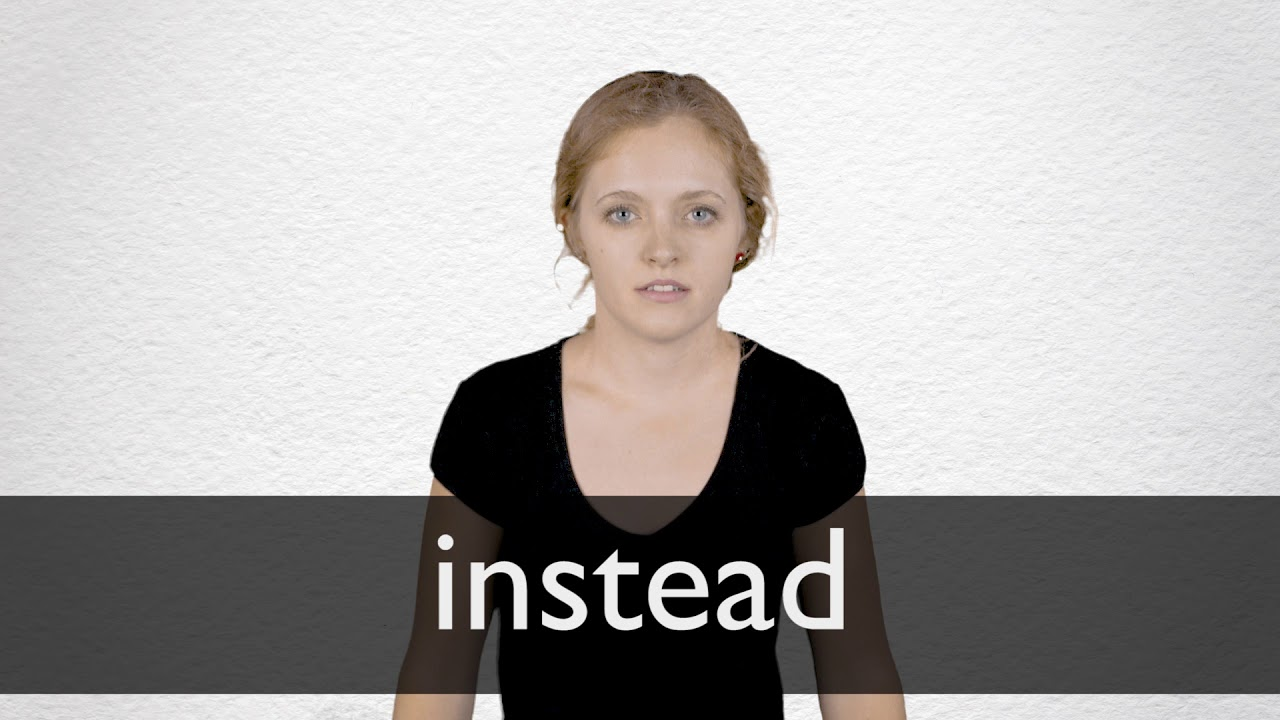 "Hindi Translation of ""instead"" 