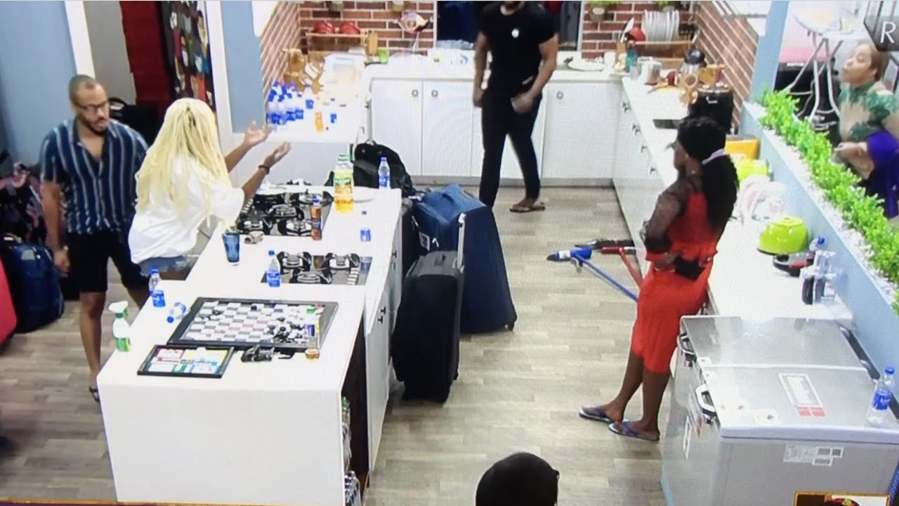 BBNaija! Trouble As Lucy and Nengi Engage in Heated War of Words After Eviction Show