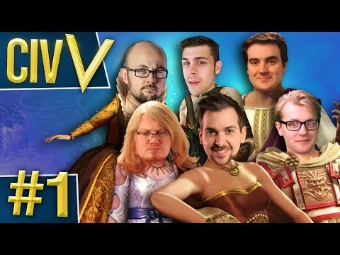 Civ V: Euro Rumble #1 - Geographical Nightmare